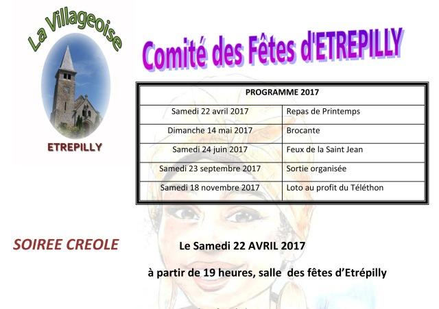 Programme 2017 A Blog
