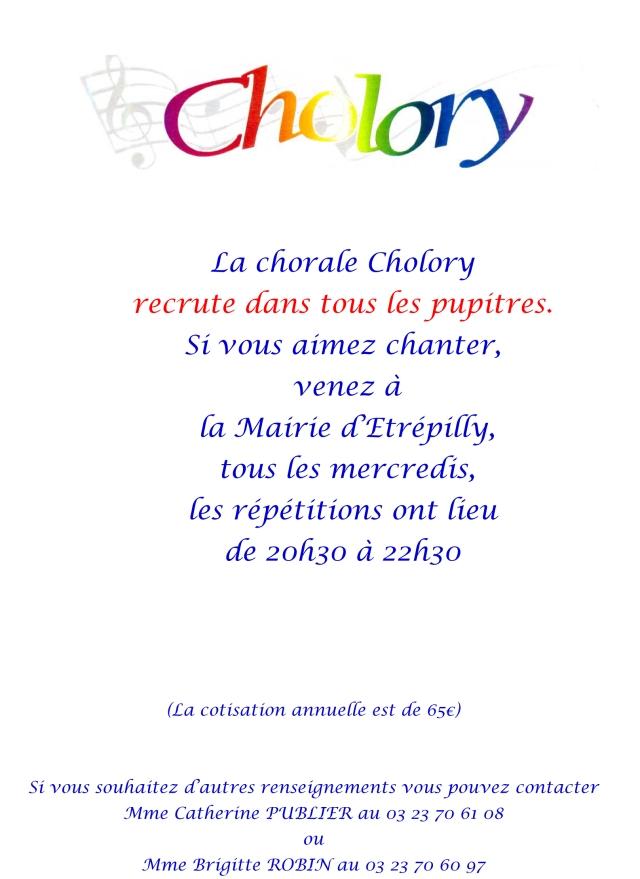 2017 Cholory