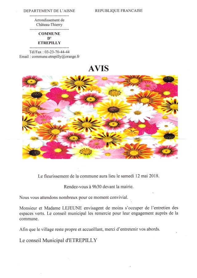 180512 Fleurissement commune
