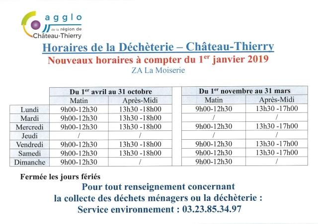 CARCT horaires déchèterie (2)